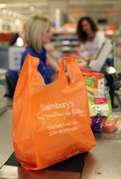 Image result for sainsbury's plastic bags