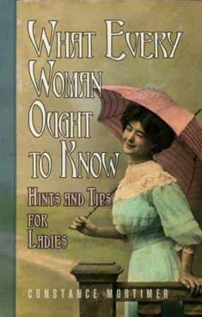 What every woman ough to know