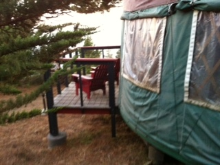 Yurt - side view