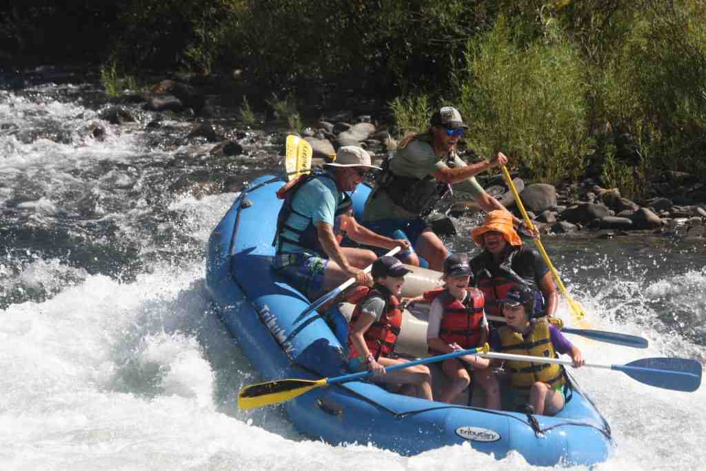Whitewater rafting on American River - 21 last