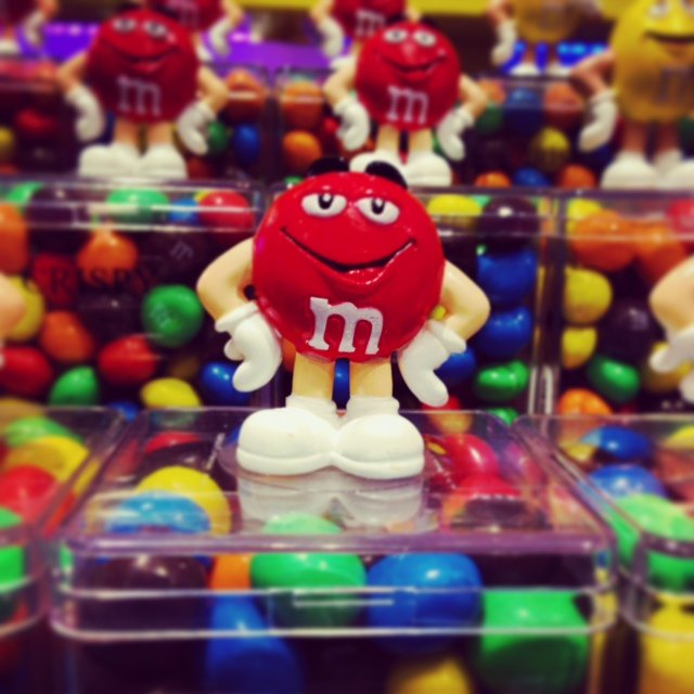 "And what would a trip trough Leicester Square be without checking out M and M World! This was on middle daughter's ""must do"" list (I know)."
