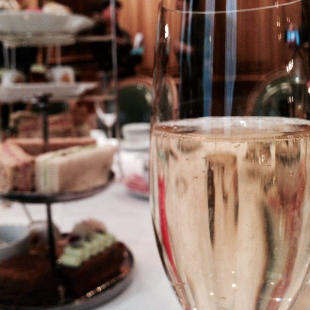 There are few things more British, and more enjoyable, than a lazy afternoon tea with a glass of bubbly!