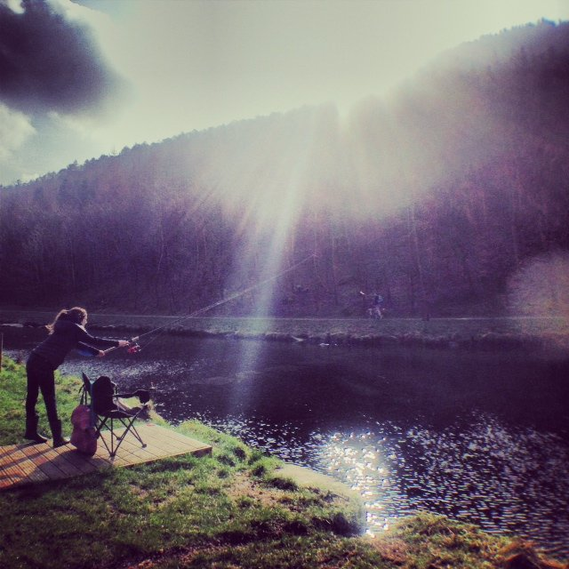 My 11-year-old daughter acquired a love of fishing on a recent trip to the Cwmcarn Forest in South Wales.