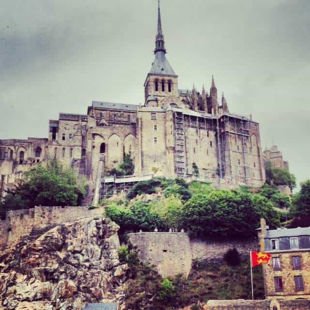Mont St Michel is just next door in Normandy.
