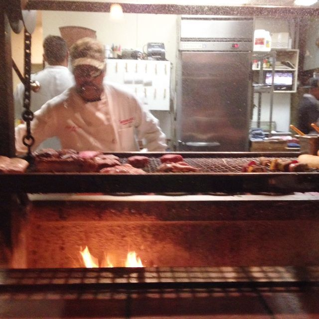 Phil manning the bar-b-que at the Hitching Post I in Casmalia, California. They serve the the world's best Santa Maria style #BBQ. Ever. #foodie #travel #california