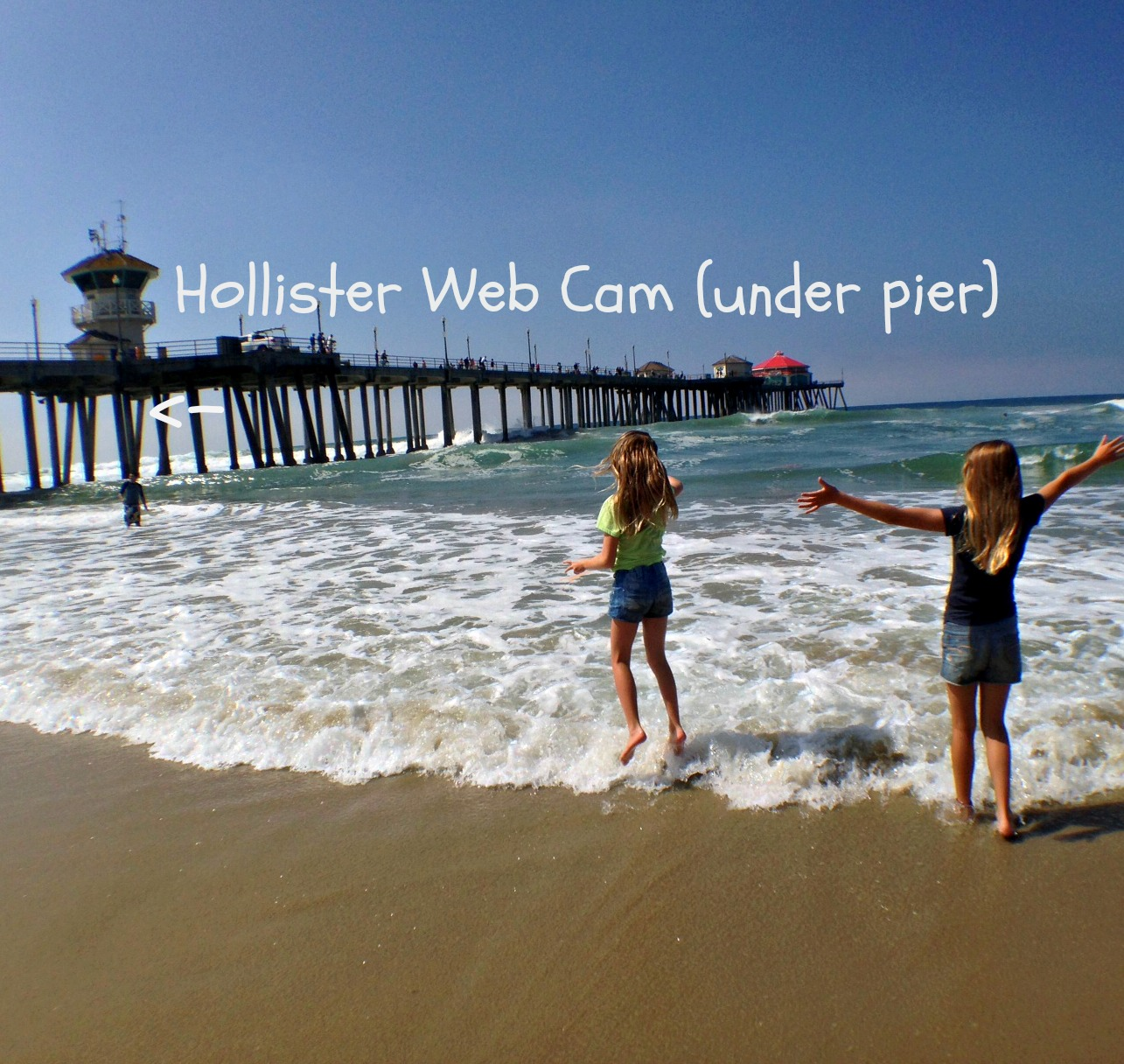 Surf City USA: Finding the Hollister web cam and learning to surf ...