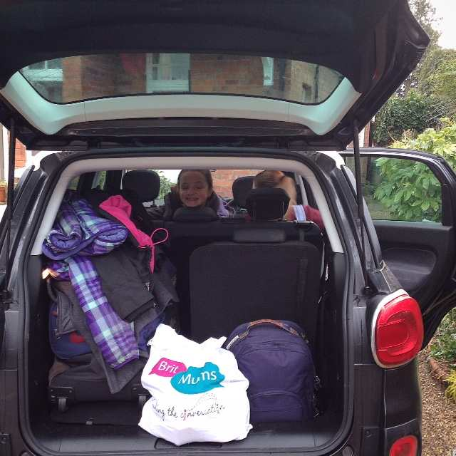 Packed and ready to test out the Fiat 500 MPW 7-seater