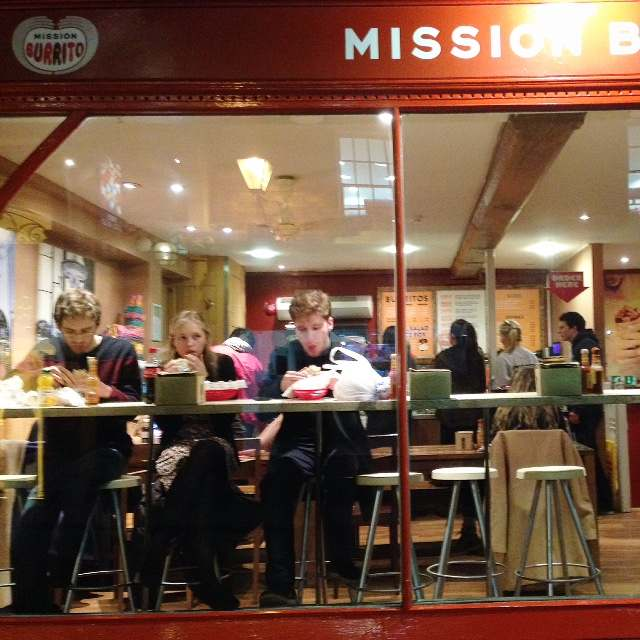 just LOVE Mission Burrito in Oxford. Reminds me of my post uni days in San Francisco