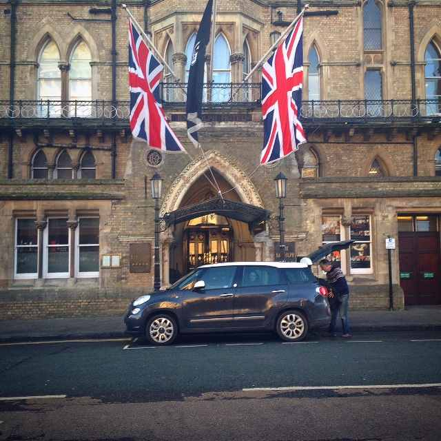 We stayed smack in the centre of Oxford, in the iconic Randolph Hotel.
