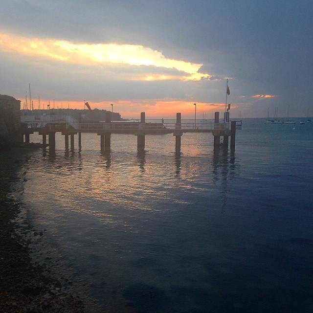 Sunset at Yarnouth Pier
