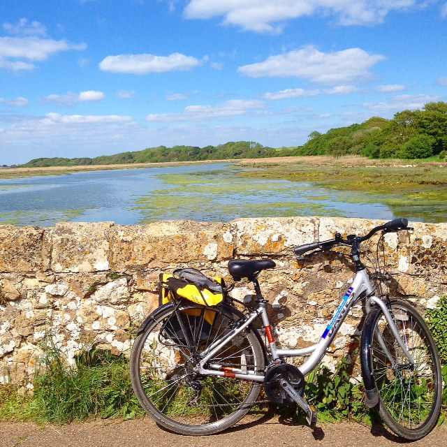For some exercise and great views, rent a bike at Wight Cycle Hire and whiz through the salt marshes of Yarmouth Harbour's Estuary (then have lunch or an ice cream or crepe at Off the Rails.)