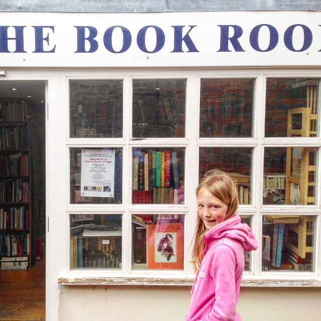 Tucked away in Yarmouth is this fabulous used book store. We got a copy of Enid Blyton's The Family at Red Roofs for 50p!