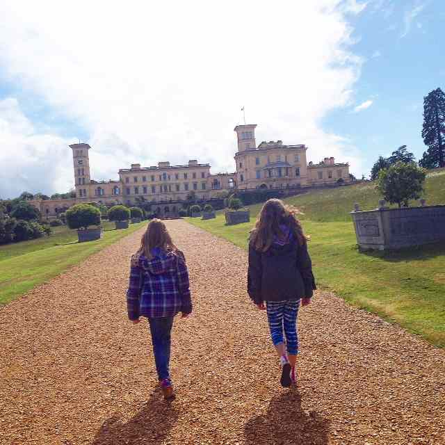 Osborne House near Cowes was Queen Victoria's and Albert's favourite residence.