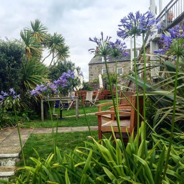 Our hotel in Scilly had lots of little hidden corners like this one