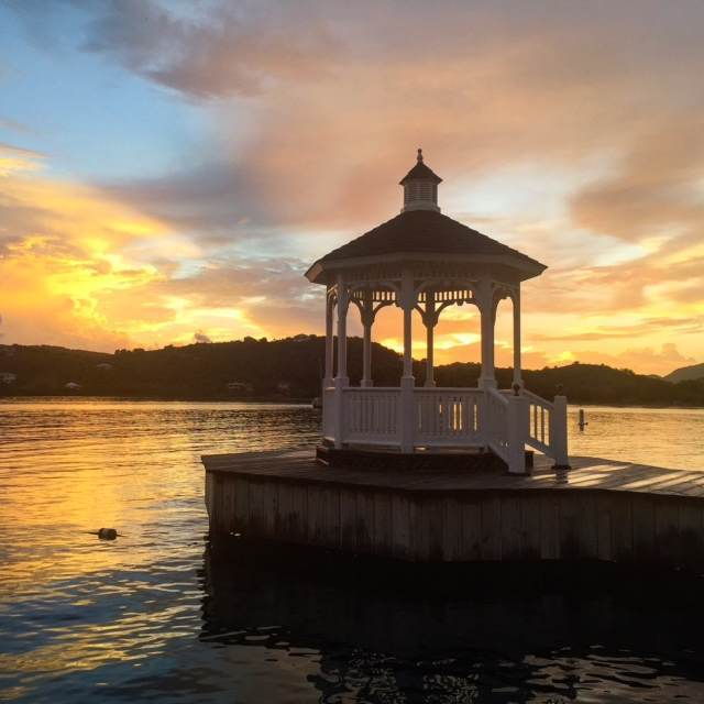 Sunset at Mamora Bay, St James Club, Antigua
