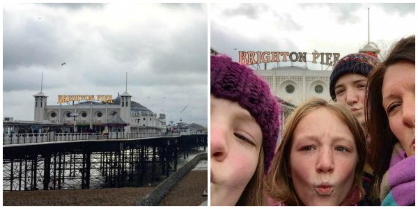 We started the year with a trip to Brighton, staying at the Holiday Inn.