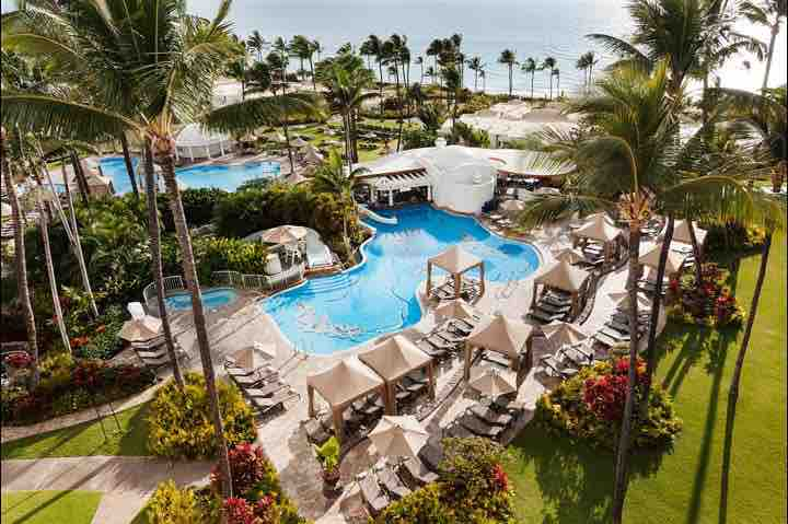We're staying at the Fairmont Kea Lani - which I am very excited about! Set on 22 acres of tropical gardens overlooking the beach, this 5-star hotel is near