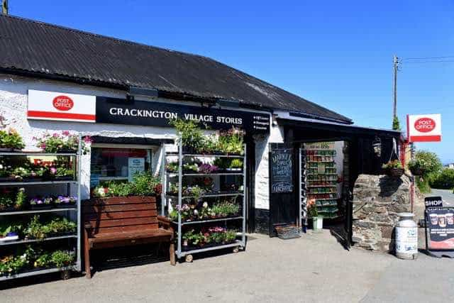 The Crackington Haven post office has just about everything!