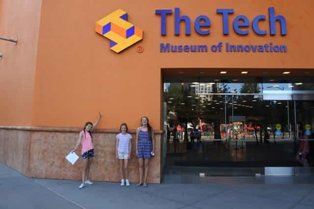 The Tech Museum of Innovation should be at the top of your list for every Silicon valley Tech tour.