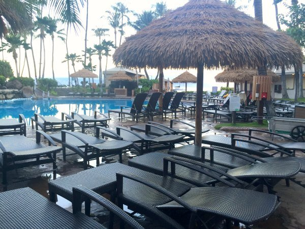 The pools (there are 5!) can get a bit crowed at the Westin Maui, specially in the summer holidays. I suggest renting a cabana or gazebo. We did and it made a huge difference!