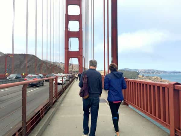 walking-across-golden-gate-bridge