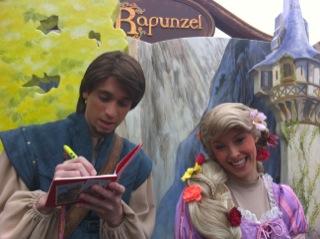 Meet rapunzel of walt disney Pictures Tangled