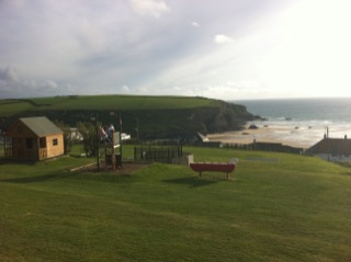 Bedruthan Steps Sustainable Tourism Young Families And A