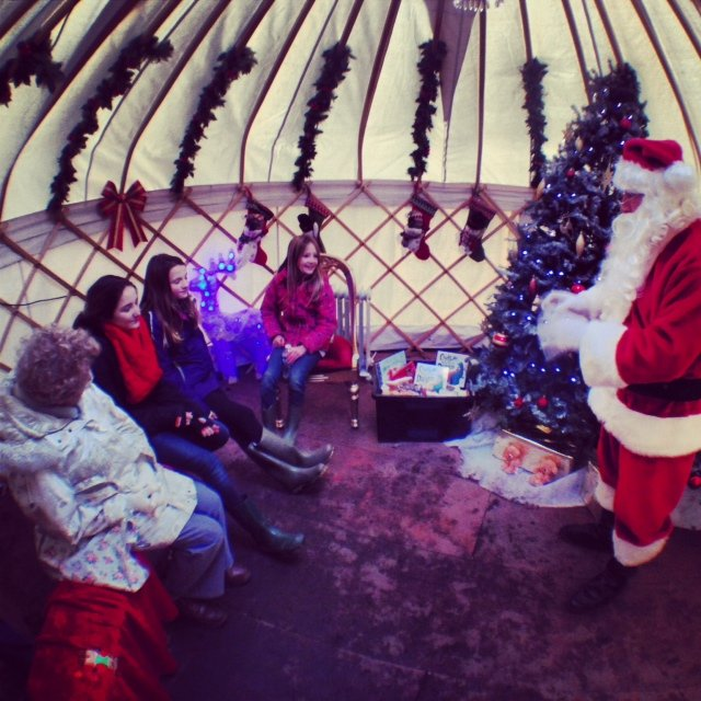 The Santa's Village experience was one of the best I've ever experienced. Your family is privately escorted through the great oaks to meet a pleasantly plump and very jolly Father Christmas. Each child leaves with a small gift.
