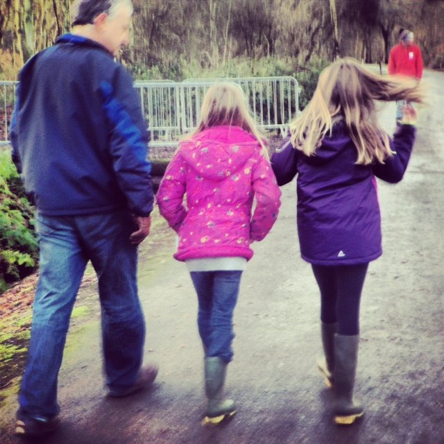 We donned wellies to make our way to The Little Welly, the only Christmas children's festival in the UK.