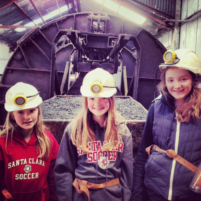 Wales Going Down A Coal Mine A Modern Mother