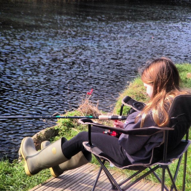 The fishing club meets on Saturdays March - October. £3 will get you a rod, rod holder, chair, bait and all the pointers you need to get started.