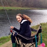 learning to fish in cwmcarn forest - resting