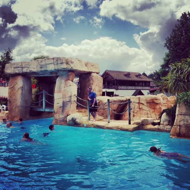 Yes another swimming pool at Domaine des Ormes!