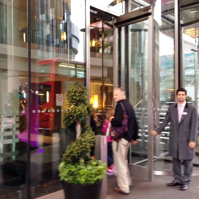 Our residence while in London - Park Plaza Count Hall in South Bank