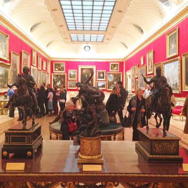 The Wallace Collection - inside a gallery