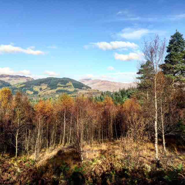 Duke's Pass, regarded as one of Britain's best drives, which leads you through some of the most scenic parts of the Trossachs
