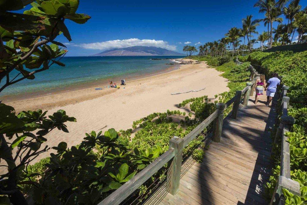 The beach Wailea (Photo credit: Hawaii Tourism Authority (HTA)/ Tor Johnson)