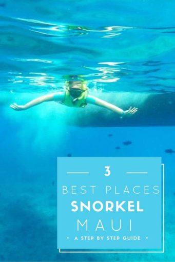 best places to snokel maui