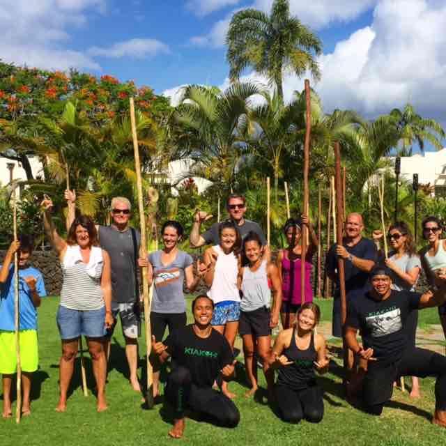 I also tried Kiakahi – a combination of new age exercises with Hawaiian and Polynesian training methods.