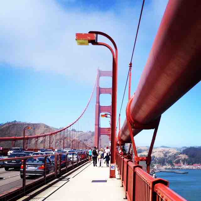 Guide To Walking Over The Golden Gate Bridge A Modern Mother