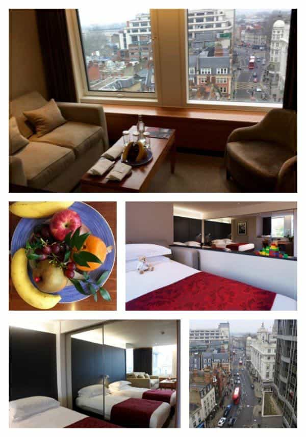 We had an executive room that connected to a twin. It was almost like having a mini apartment!